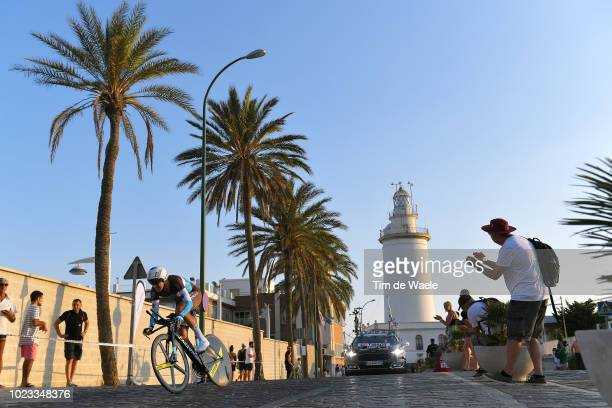 Alexandre Geniez of France and Team AG2R La Mondiale / Lighthouse / Fans / Public / during the 73rd Tour of Spain 2018, Stage 1 a 8km Individual Time...