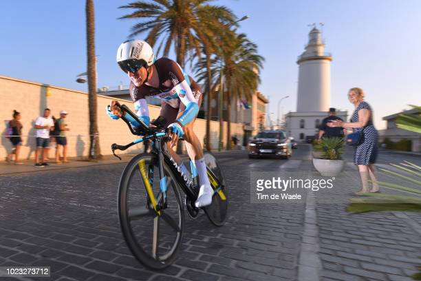 Alexandre Geniez of France and Team AG2R La Mondiale / Lighthouse / during the 73rd Tour of Spain 2018 Stage 1 a 8km Individual Time Trial from...