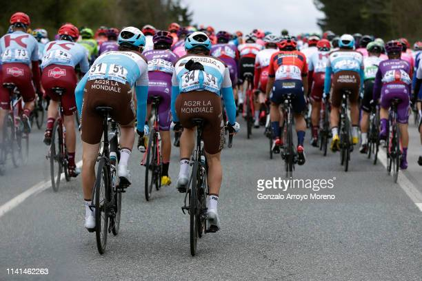 Alexandre Geniez of France and Team AG2R La Mondiale / Mathias Frank of Switzerland and Team AG2R La Mondiale / Peloton / during the 59th...