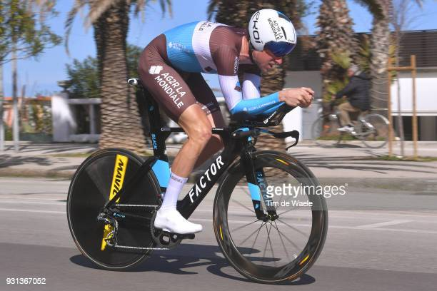 Alexandre Geniez of France during the 53rd TirrenoAdriatico 2018 Stage 7 a 105km Individual Time Trial stage in San Benedetto Del Tronto on March 13...
