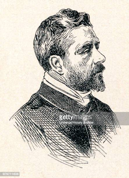Alexandre Gustave Eiffel born Bönickhausen 1832 – 1923 French civil engineer and architect From Enciclopedia Ilustrada Segui published c 1900