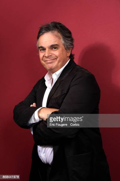 Alexandre Jardin poses during a portrait session in Paris France on