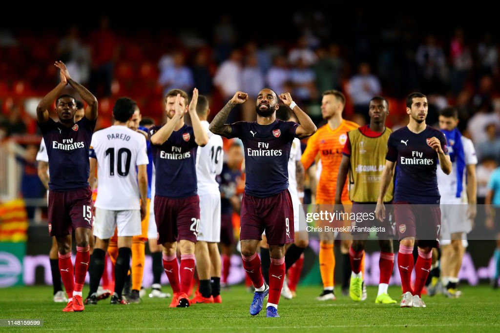 Valencia v Arsenal - UEFA Europa League Semi Final : Second Leg : News Photo