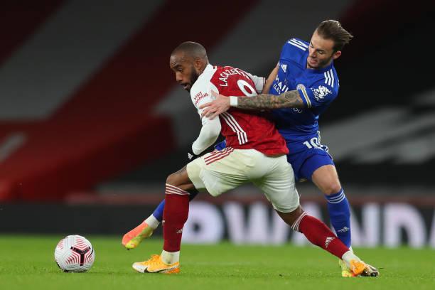 GBR: Arsenal v Leicester City - Premier League