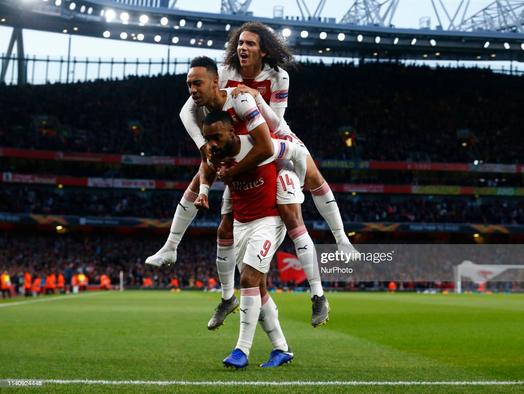 Arsenal v Valencia - UEFA Europa League Semi Final : First Leg : ニュース写真