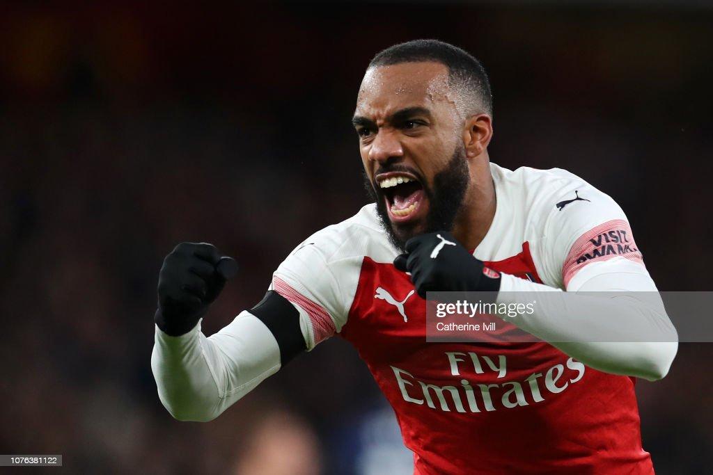 Arsenal FC v Fulham FC - Premier League : ニュース写真