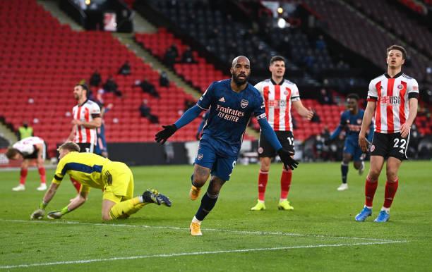 GBR: Sheffield United v Arsenal - Premier League