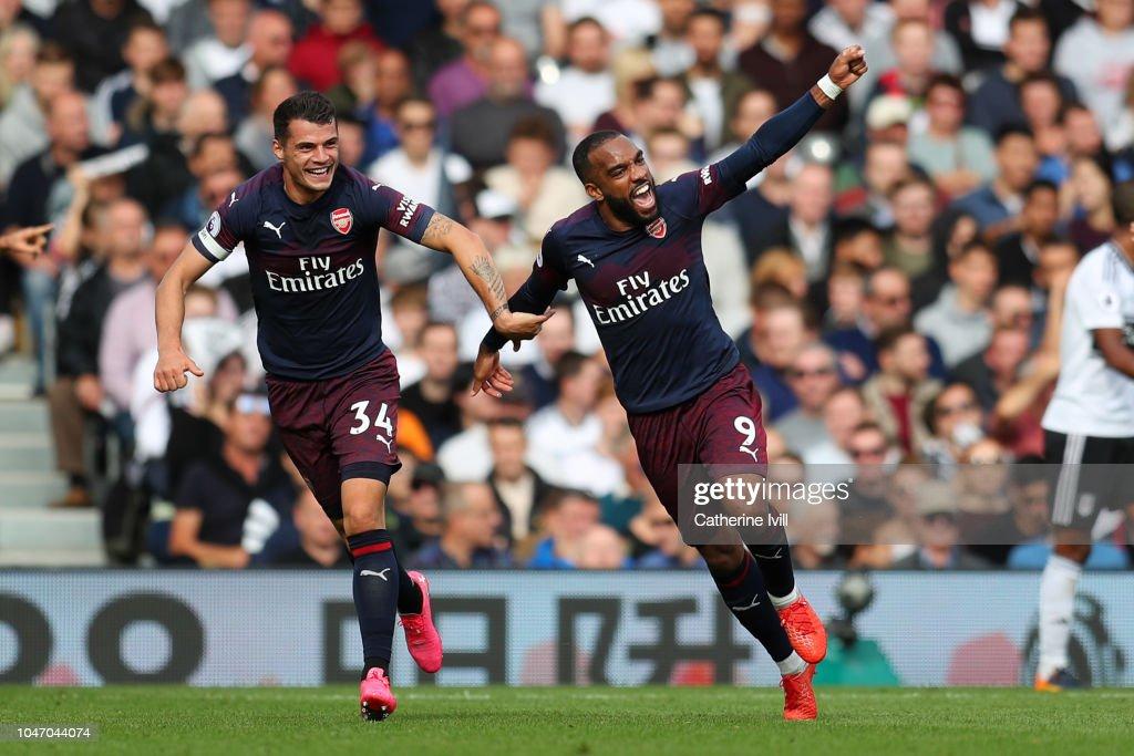Fulham FC v Arsenal FC - Premier League : ニュース写真