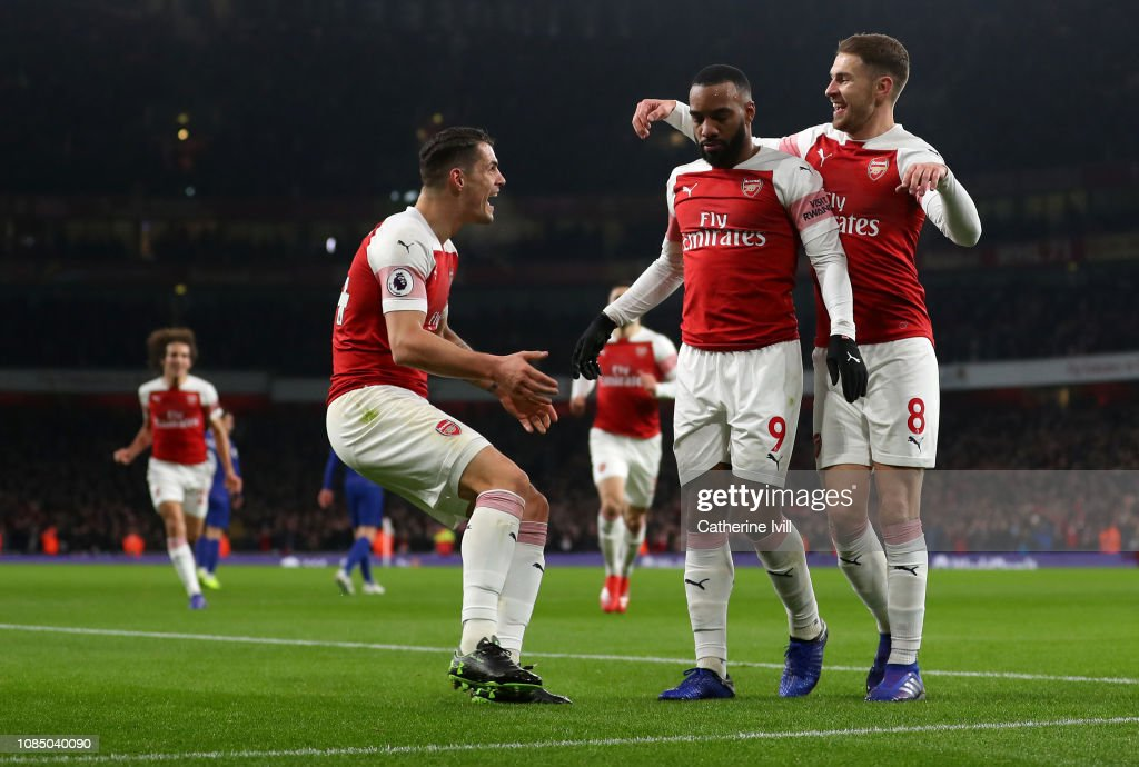 Arsenal FC v Chelsea FC - Premier League : News Photo
