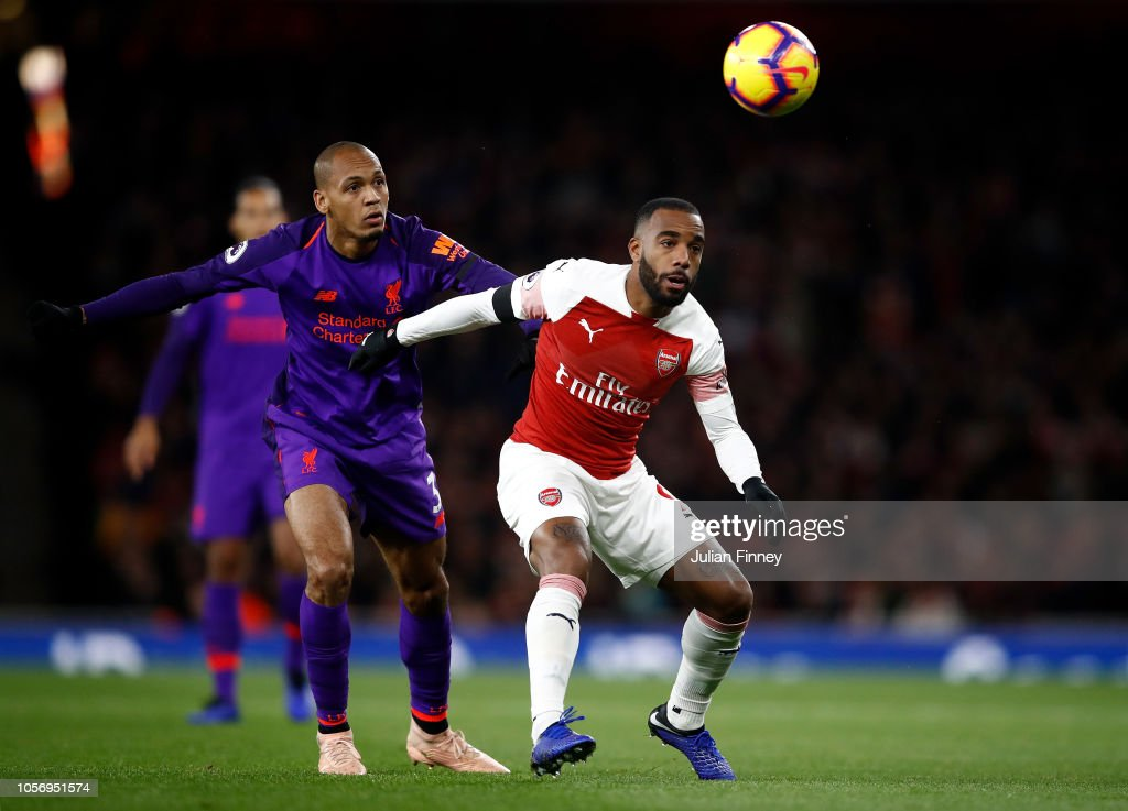 Arsenal FC v Liverpool FC - Premier League : Fotografía de noticias