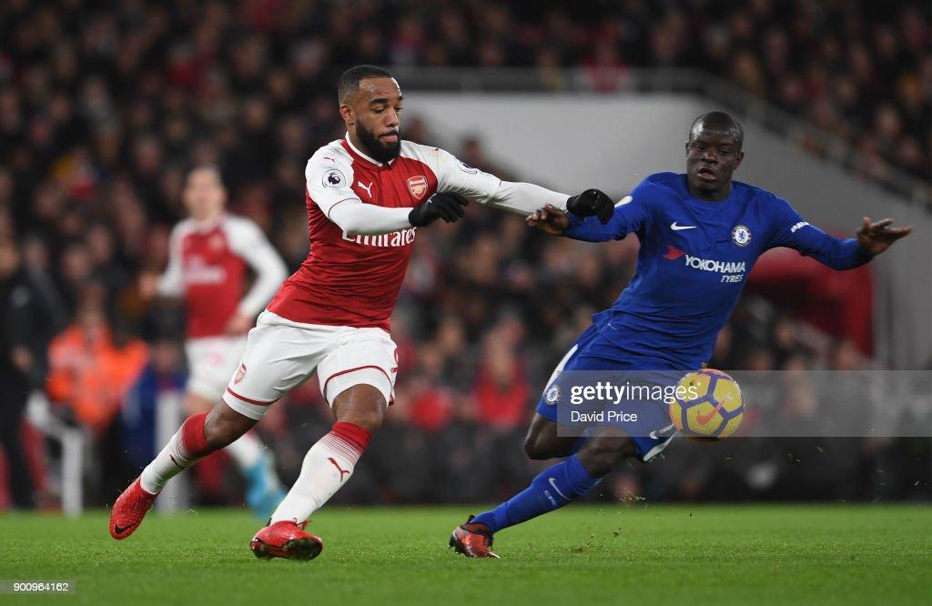 Arsenal v Chelsea - Premier League : Nachrichtenfoto