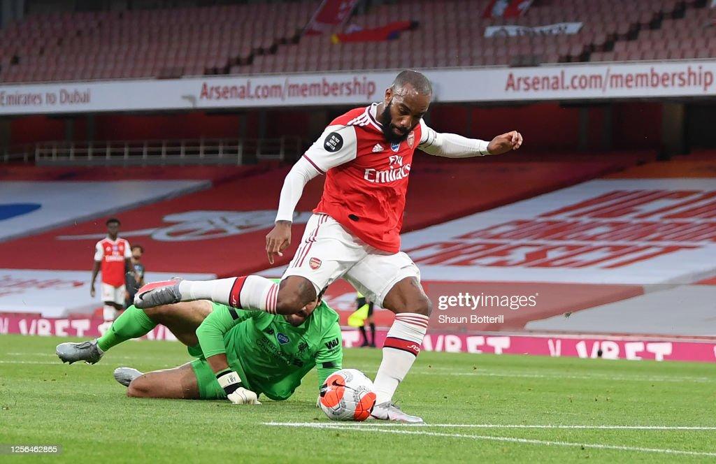 Arsenal FC v Liverpool FC - Premier League : ニュース写真