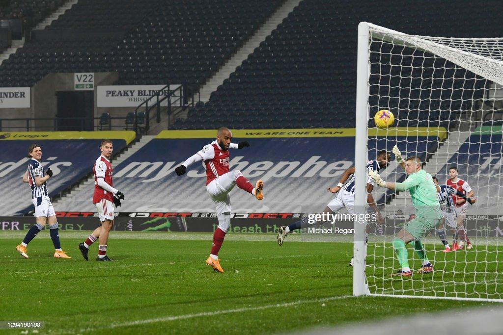 West Bromwich Albion v Arsenal - Premier League : ニュース写真