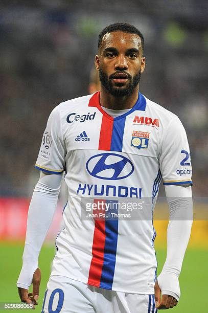 Alexandre LACAZETTE of Lyon during the football french Ligue 1 match between Olympique Lyonnais and As Monaco at Stade des Lumi����res on May 7 2016...