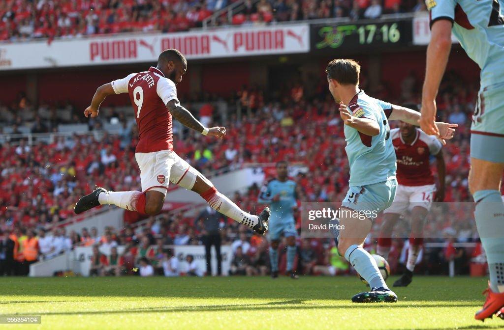 Arsenal v Burnley - Premier League : News Photo