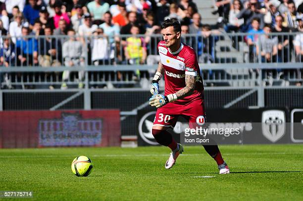 Alexandre Letellier during the French Ligue 1 match between Angers SCO and Olympique de Marseille on May 1 2016 in Angers France