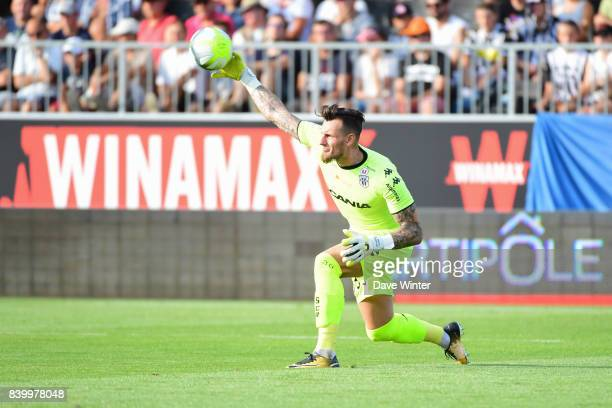 Alexandre Letellier of Angers during the Ligue 1 match between Angers SCO and Lille OSC at Stade Raymond Kopa on August 27 2017 in Angers