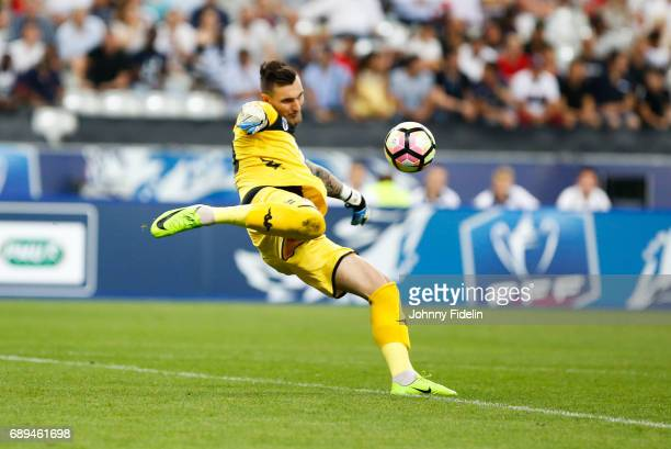 Alexandre Letellier of Angers during the National Cup Final match between Angers SCO and Paris Saint Germain PSG at Stade de France on May 27 2017 in...