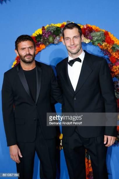 Alexandre Mattiussi and Simon Porte Jacquemus attend the Opening Season Gala Ballet of Opera National de Paris Held at Opera Garnier on September 21...