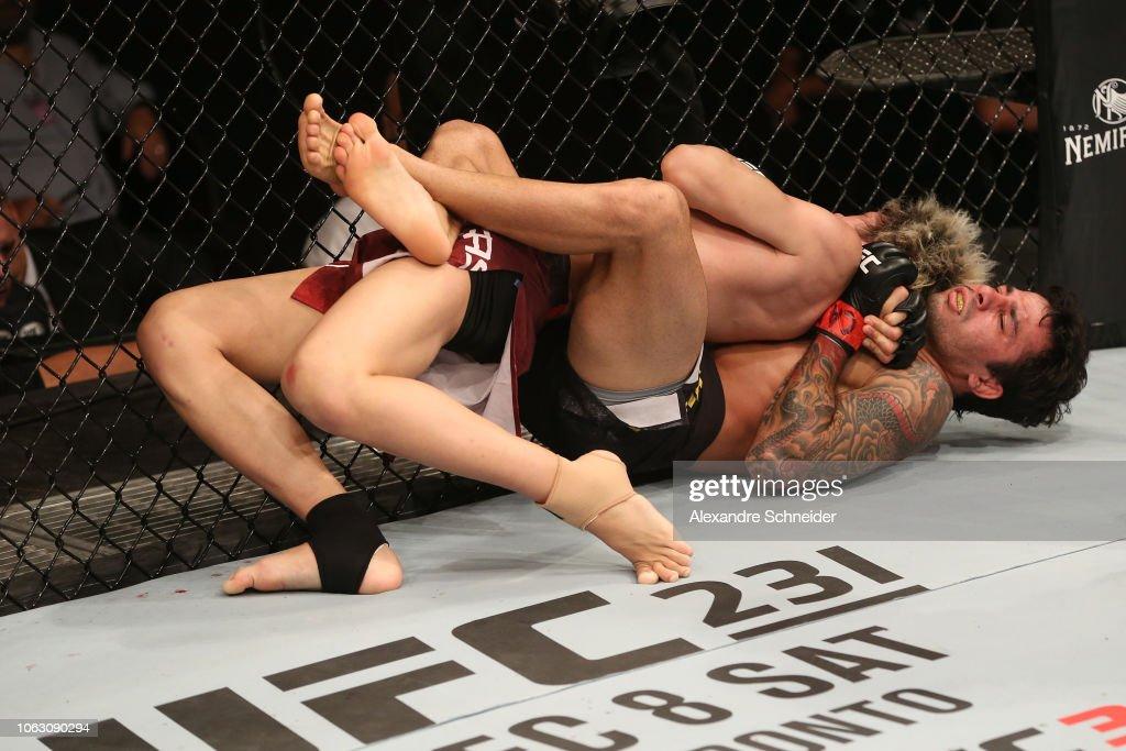 UFC Fight Night: Pantoja v Sasaki : News Photo