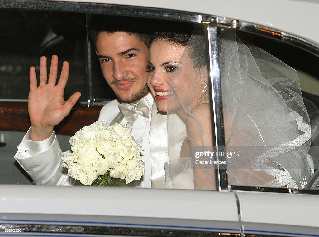 Alexandre Pato & Sthefany Brito's Wedding : News Photo