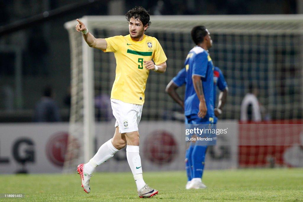 Brazil v Ecuador - Group B Copa America 2011 : Nachrichtenfoto