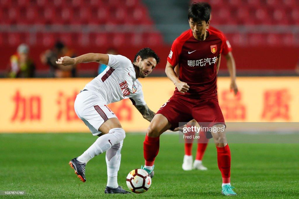 Hebei China Fortune v Tianjin Quanjian - 2018 Chinese Super League