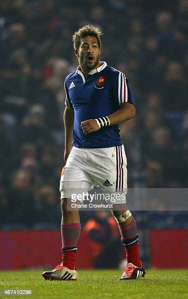 Alexandre Pilati of France during the Under 20 Six Nations Championship match between England U20 and France U20 at The Amex Stadium on March 20 2015...