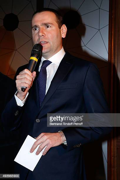 Alexandre Ricard attends 'Le Bal Jaune 2015' Dinner Party At Hotel Salomon de Rothschild during FIAC on October 23 2015 in Paris France