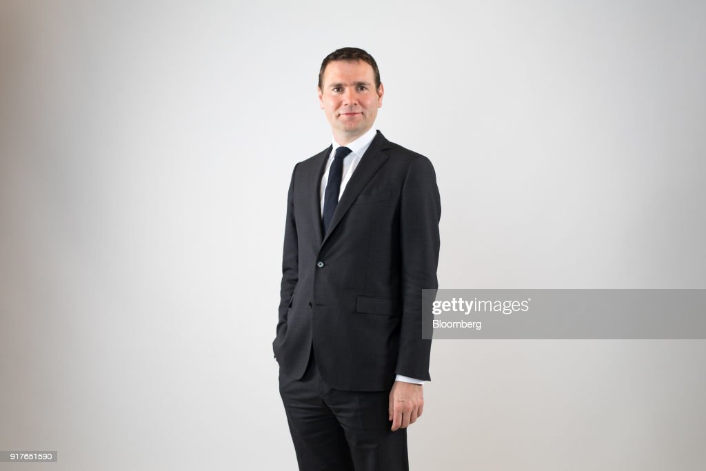 Alexandre Ricard, chief executive officer of Pernod Ricard SA, poses for a photograph following a Bloomberg Television interview in London, U.K., on Tuesday, Feb. 13, 2018. Pernod Ricard is monitoring the cannabis industry closely, Ricard said during the interview. Photographer: Chris Ratcliffe/Bloomberg via Getty Images