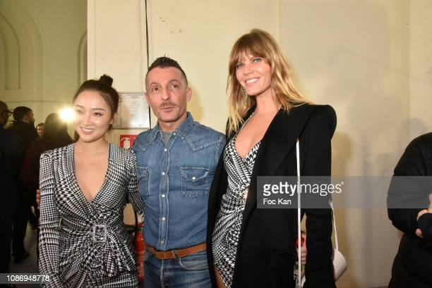 Alexandre Vauthier and guests attend the Alexandre Vauthier Haute Couture Spring Summer 2019 show as part of Paris Fashion Week on January 22 2019 in...