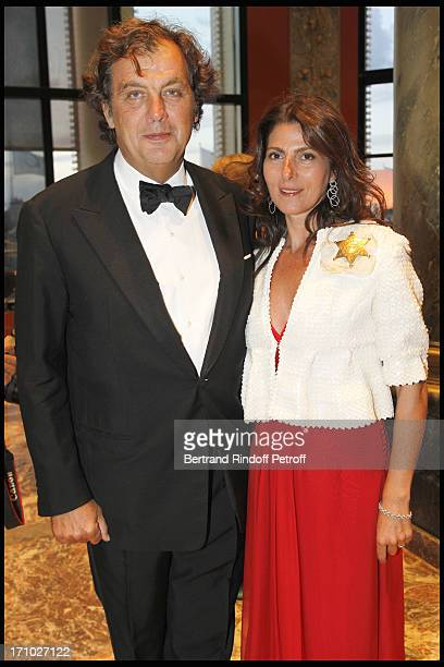Alexandre Vilgrain and his wife Denise at Deauville Ball In Benefit Of Care France