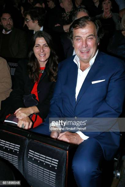 Alexandre Vilgrain and his wife Denise Vilgrain attend the AROP Charity Gala with the epresentation of 'Carmen' at Opera Bastille on March 10 2017 in...
