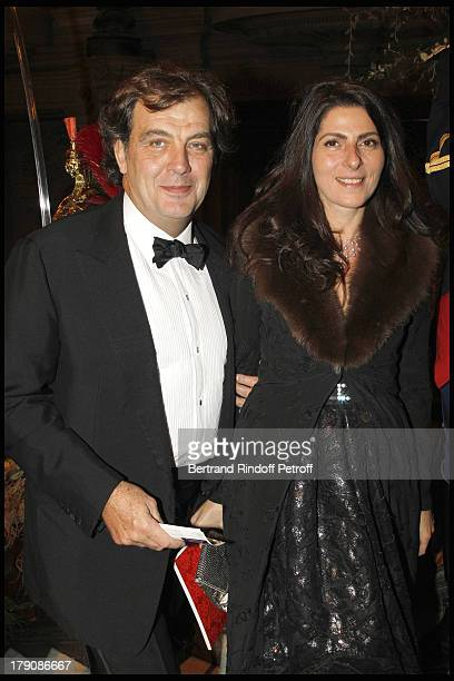 Alexandre Vilgrain and wife Denise Vilgrain at The Gala Evening Celebrating The 35th Anniversary Of L'Arop At L'Opera Garnier In Paris