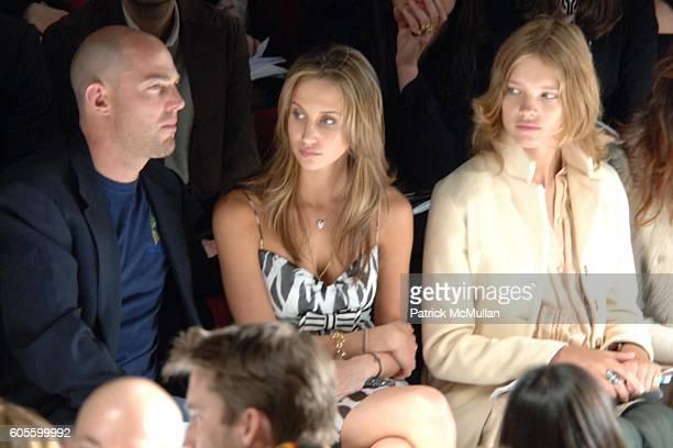 Alexandre Von Furstenberg Ali Kay and Natalia Vodianova attend Diane von Furstenberg Fall 2006 Fashion Show Front Row at The Tent at Bryant Park on...