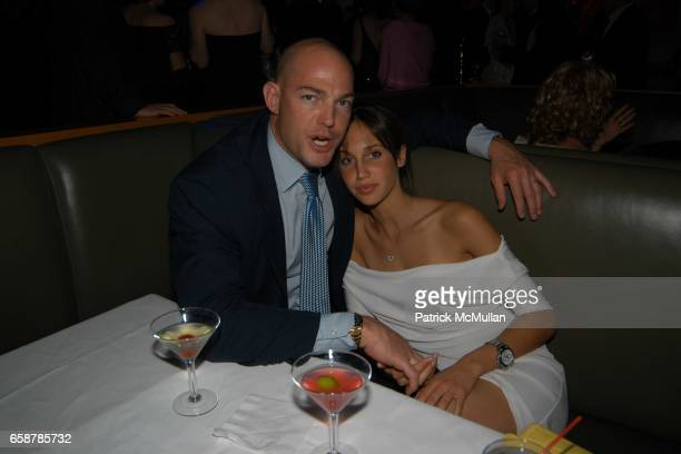 Alexandre von Furstenberg and Ali Kay attend the 2004 Vanity Fair Oscar Party at Mortons on February 29 2004 in Beverly Hills California