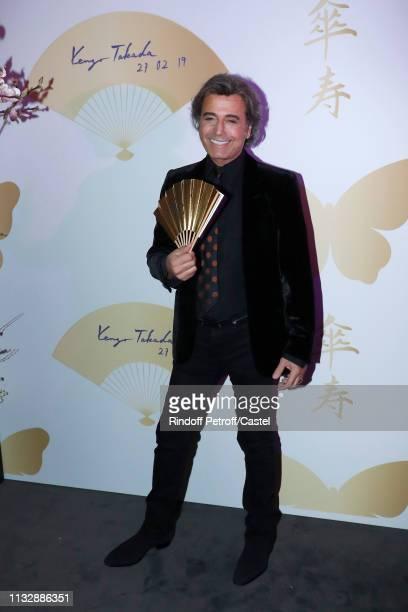 Alexandre Zouari attends the 80th Kenzo Takada Birthday Party at Pavillon Ledoyen on February 28 2019 in Paris France
