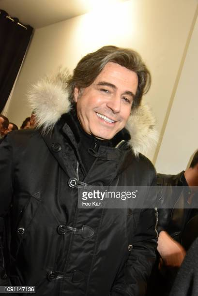 Alexandre Zouari attends the Dada Girl Marie Beltrami Exhibition Preview at Alfalibra Gallery on January 29 2019 in Paris France