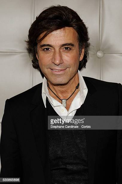 Alexandre Zouari attends the opening party of the new parisian restaurant 'Bon' designed by Philippe Starck