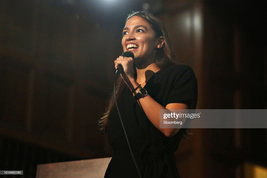 New York Congressional Candidate Alexandria Ocasio-Cortez Speaks At First Unitarian Church of Los Angeles