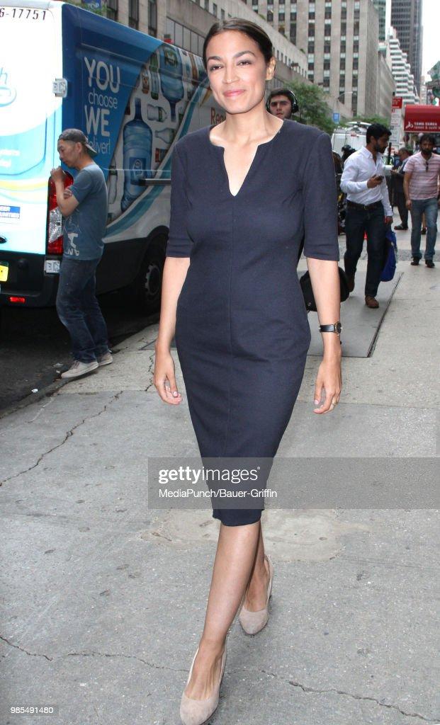 Celebrity Sightings In New York - June 27, 2018 : News Photo
