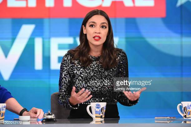 """Alexandria Ocasio-Cortez is the guest today, Wednesday, February 19, 2020 on ABC's """"The View."""" """"The View"""" airs Monday-Friday, 11am-12pm, ET on ABC...."""