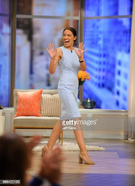 THE VIEW Alexandria OcasioCortez visits 'THE VIEW' airing Friday June 29 2018 The View airs Monday Friday airing on the ABC Television Network CORTEZ