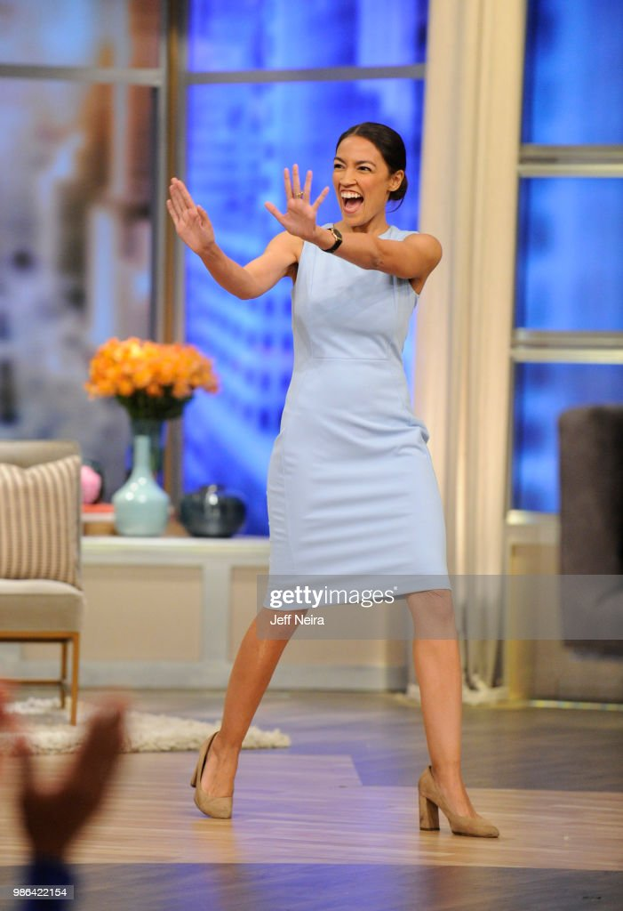 THE VIEW - Alexandria Ocasio-Cortez visits 'THE VIEW' airing Friday, June 29, 2018. The View airs Monday - Friday (11:00 a.m. - 12:00 noon, ET) airing on the ABC Television Network. CORTEZ