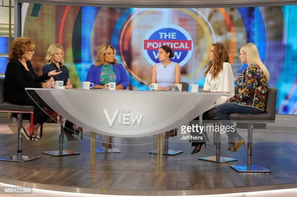 THE VIEW Alexandria OcasioCortez visits 'THE VIEW' airing Friday June 29 2018 The View airs Monday Friday airing on the ABC Television Network MCCAIN