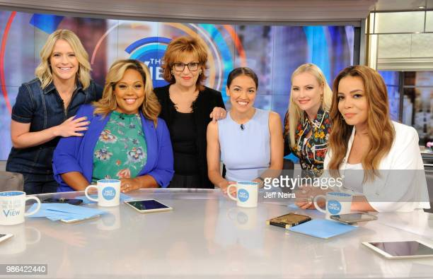 THE VIEW Alexandria OcasioCortez visits THE VIEW airing Friday June 29 2018 The View airs Monday Friday airing on the Walt Disney Television via...