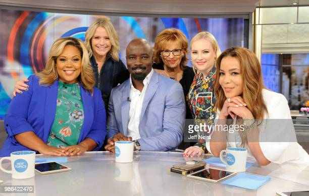 THE VIEW Alexandria OcasioCortez visits 'THE VIEW' airing Friday June 29 2018 The View airs Monday Friday airing on the ABC Television Network HOSTIN