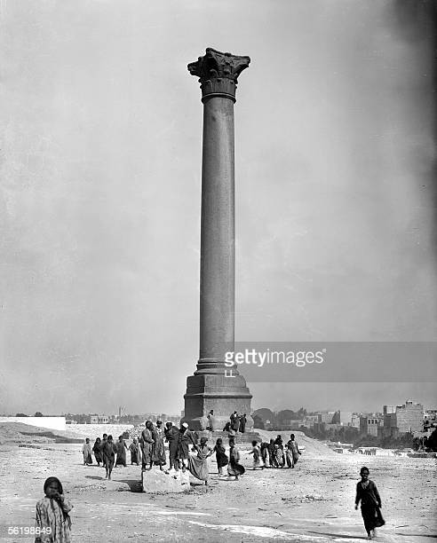 Alexandria The column said of Pompey about 1870