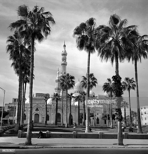 Alexandria The Great mosque January 1966