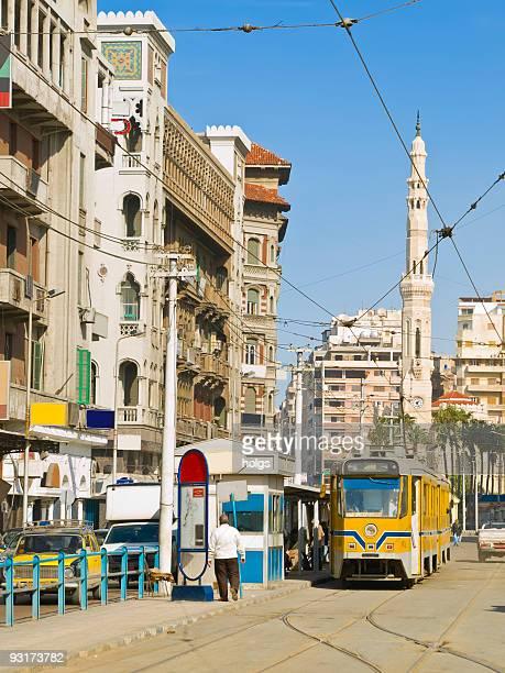 Alexandria Tram stop, Egypt